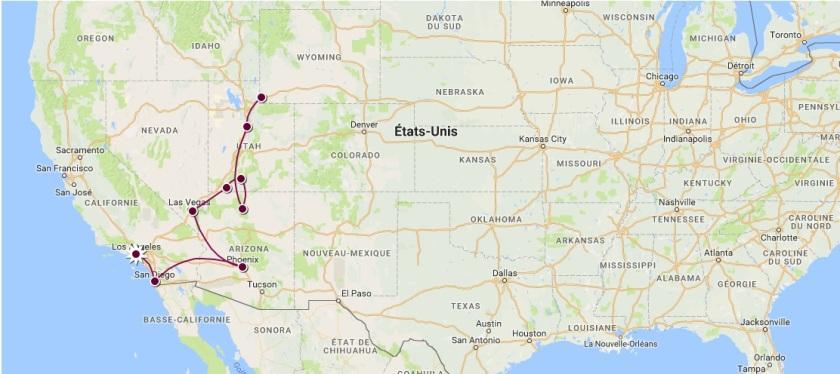 MAP TRIP 1