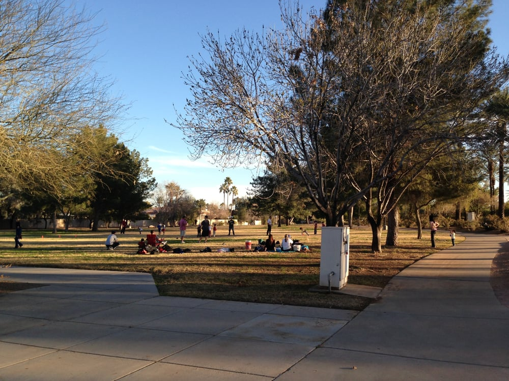 There are more than 365 Rotary Parks in the World and Scottsdale has a niceone